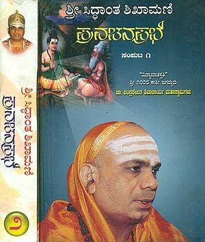 Shri Shivayogi Shivacharya in Kannada (A Set of 2 Volumes)
