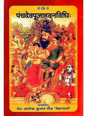 पंचदेवपूजाहवनविधि: Methods of Performing Havan of Ganesha, Vishnu, Durga, Surya and Shiva Gods