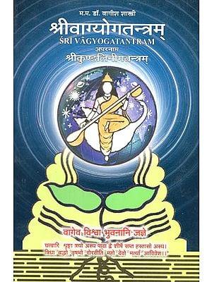 श्रीवाग्योगतन्त्रम्: Sri Vag Yoga tantram