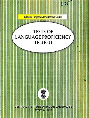 Tests of Language Proficiency Telugu: For Secondary (Standard X) Level