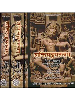 शक्तिसङ्गमतन्त्रम् - Shakti Sangam Tantram (Set of 3 Volumes)