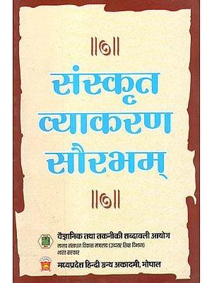 संस्कृत व्याकरण सौरभम - Sanskrit Grammar for Graduates