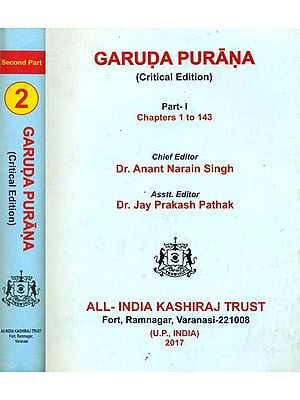 Garuda Purana in 2 Volumes (Critical Edition)