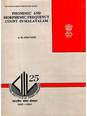 Phonemic and Morphemic Frequency Count in Malayalam (An Old Book)