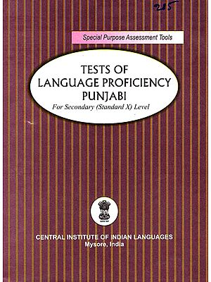 Tests of Language Proficiency Punjabi: For Secondary (Standard X) Level