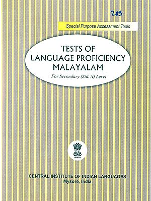 Tests of Language Proficiency Malayalam: For Secondary (Standard X) Level