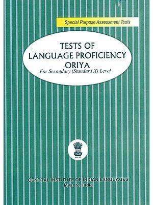 Tests of Language Proficiency Oriya: For Secondary (Standard X) Level