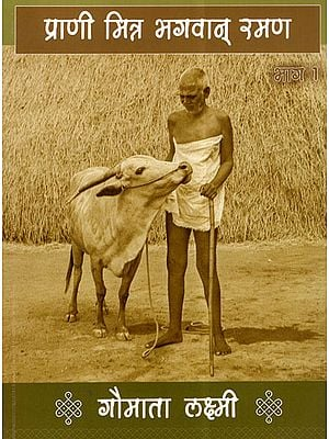 प्राणी मित्र भगवान् रमण: गौमाता लक्ष्मी - Bhagawan Ramana: A Friend of Gaumata Lakshmi