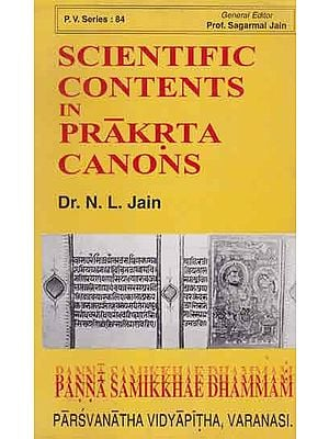 Scientific Contents in Prakrta Canons (An Old and Rare Book)