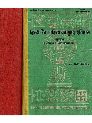 हिन्दी जैन साहित्य का बृहद् इतिहास - A Detailed History of Hindi Jain Literature -Set Of 2 Volumes (An Old and Rare Book)
