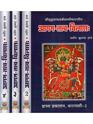 आगम-तत्त्व-विलास: - Agam Tattva Vilas (Set of 4 Volumes)
