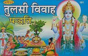 तुलसी विवाह पध्दति - Procedures of Tulsi Marriage