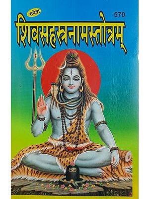 शिवसहस्त्रनामस्तोत्रम् - Shiv Sahastranama Stotram