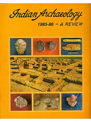 Indian Archaeology - 1985-86 A Review (An Old and Rare Book)