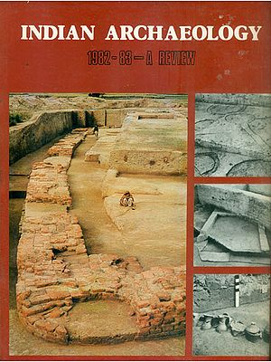 Indian Archaeology - 1982-83 A Review (An Old and Rare Book)