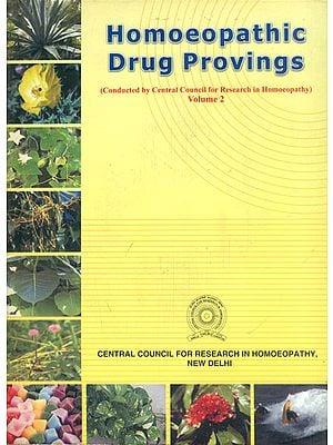 Homoeopathic Drug Provings