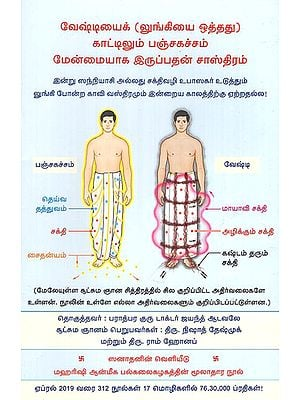 Spiritual Science Underlying Dhoti Being More Superior to a Mundu -A Lungi Like Attire (Tamil)