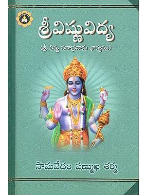 Sree Vishnuvidya- Sri Vishnu Sahasranaama Baashyamu (Telugu)