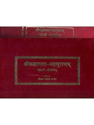 श्रीमद्भागवत महापुराण् :  Srimad Bhagawat Mahapurana with the Commentary of Shridhari (Set of 2 Volumes)