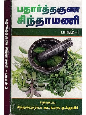 Padarthaguna Chinthamani (Set of 2 Volumes in Tamil)