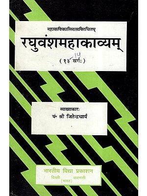 रघुवंशमहाकाव्यम् - Raghuvansha Mahakavyam (Cantos 14)