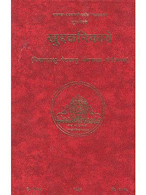 खुद्दकनिकाये (विमानवत्थु-पेतवत्थु-थेरगाथा-थेरीगाथा) – The Khuddakanikaya (Vimanavatthu-Petavatthu-Theragatha-Therigatha)