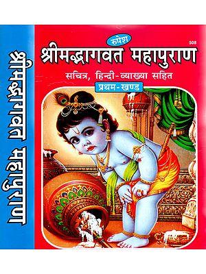 श्रीमद्भागवत महापुराण - Shrimad Bhagwat Maha Purana (Set of 2 Volumes)