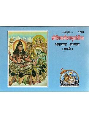 श्रीशिवलीलामृतांतील (अकरावा अध्याय) - Shri Shiva Leela Mrutantil (Marathi)