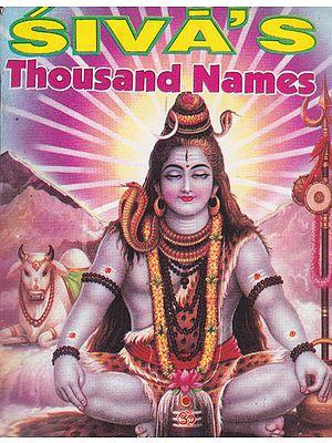 Siva's Thousand Names