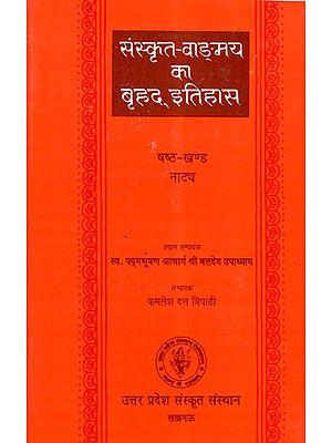 संस्कृत वाङ्मय का बृहद इतिहास- History of Sanskrit Literature Series- History of Natya (Vol-VI)