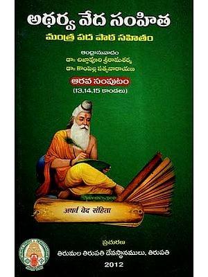 Atharva Veda Samhita In Telugu- Part VI (Canto- 13,14,15)