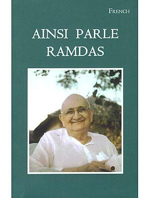 Ainsi Parle Ramdas- Thus Speaks Ramdas (French)