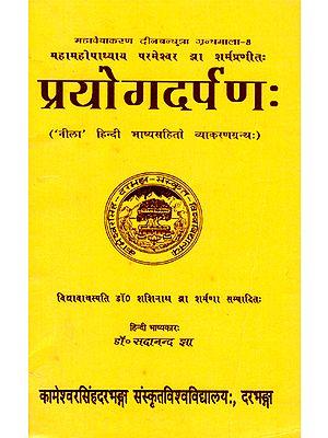 प्रयोगदर्पण:- Prayog Darpan (An Old Book)