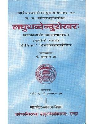 लघुशब्देन्दुशेखर:- Laghu Shabdendu Shekhar (An Old Book)