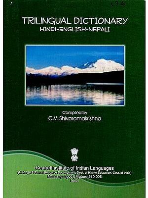 Trilingual Dictionary Hindi-English-Nepali