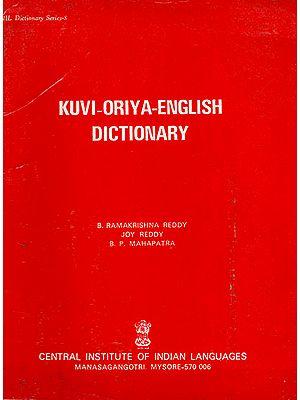 Kuvi-Oriya-English Dictionary (An Old Book)