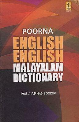 Poorna English English Malayalam Dictionary