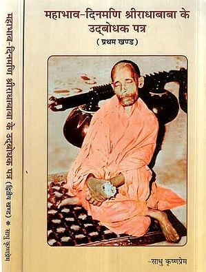 महाभाव-दिनमणि श्रीराधाबाबा के उद्बोधक पत्र- Mahabhava Dinmani Sri Radha Baba's Opening Letters (Set of 2 Volumes)