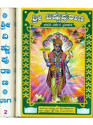 Vishnu Purana - Set of 2 Volumes (Kannada)