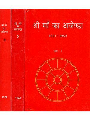 श्री माँ का अजेण्डा - The Mother's Agenda (Set of Three Volumes)