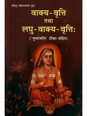 वाक्य-वृत्ति तथा लघु वाक्य वृत्तिः - Vakya Vritti tatha Laghu Vakya Vritti (A Collection of Sanskrit Shlokas Including Their Creation and Hindi Meaning)