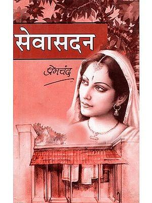 सेवासदन - Sewa Sadan- Novel (An Old Book)