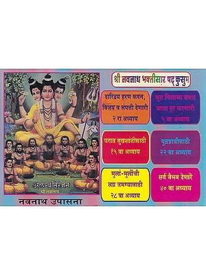 श्री नवनाथ भक्तिसार षट् कुसुम- Shri Navnath Bhaktisara Shat Kusum (Marathi)