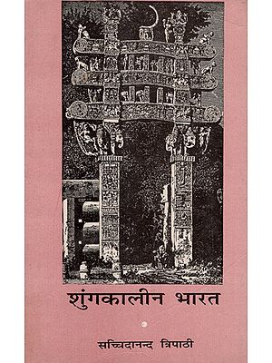 शुंगकालीन भारत - India at the Time of the Shungas (An Old and Rare Book)