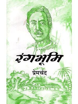 रंगभूमि - Rangbhumi- Novel (An Old Book)