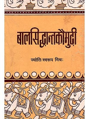 बालसिद्धान्तकौमुदि - Baal Siddhanta Kaumudi (An Old and Rare Book)