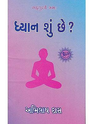 Dhyan Shun Chhe? (Gujarati)