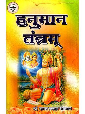 हनुमान तंत्रम् - Hanuman Tantram (An Old and Rare Book)