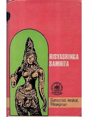 ऋश्यश्रृङ्गसंहिता - Risyasringa Samhita- Part-2 (An Old and Rare Book)