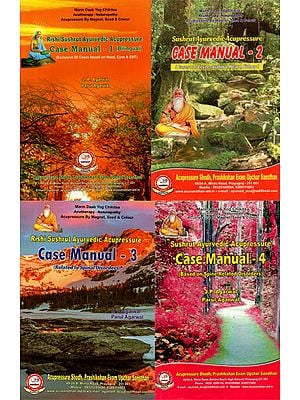 Rishi Sushrut Ayurvedic Acupressure - Set of 4 Volumes